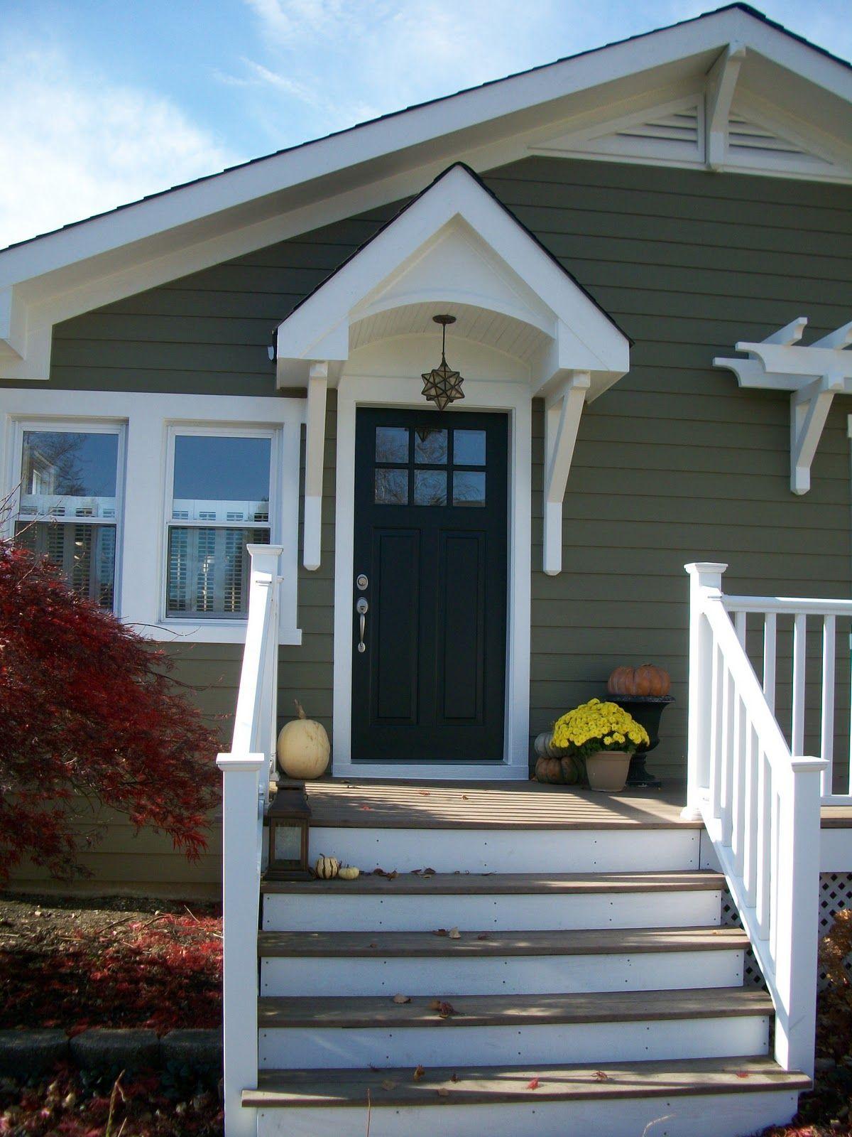 Front Door Gable Overhang