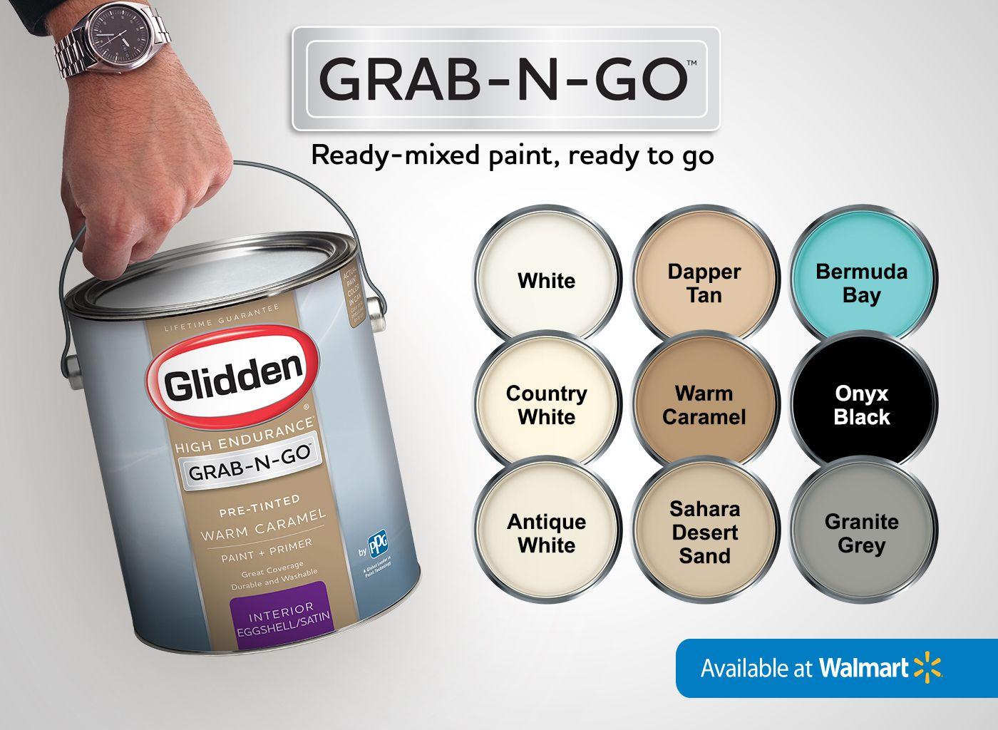 Glidden Pre Mixed Ready To Use Interior Paint And Primer Warm Caramel Walmart Com Walmart Paint Colors Walmart Paint Glidden Paint Colors