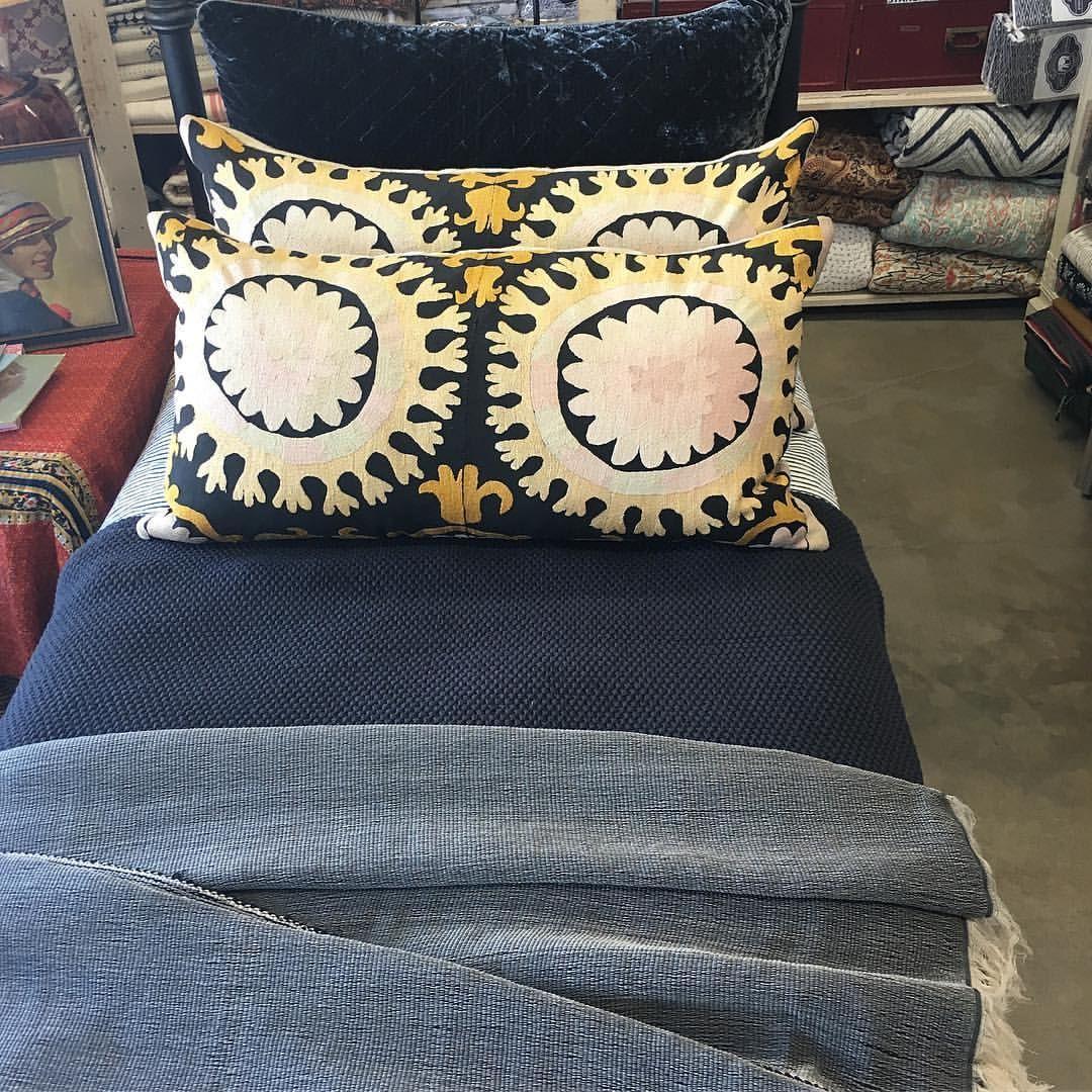 Beautiful vintage Suzani pillows!