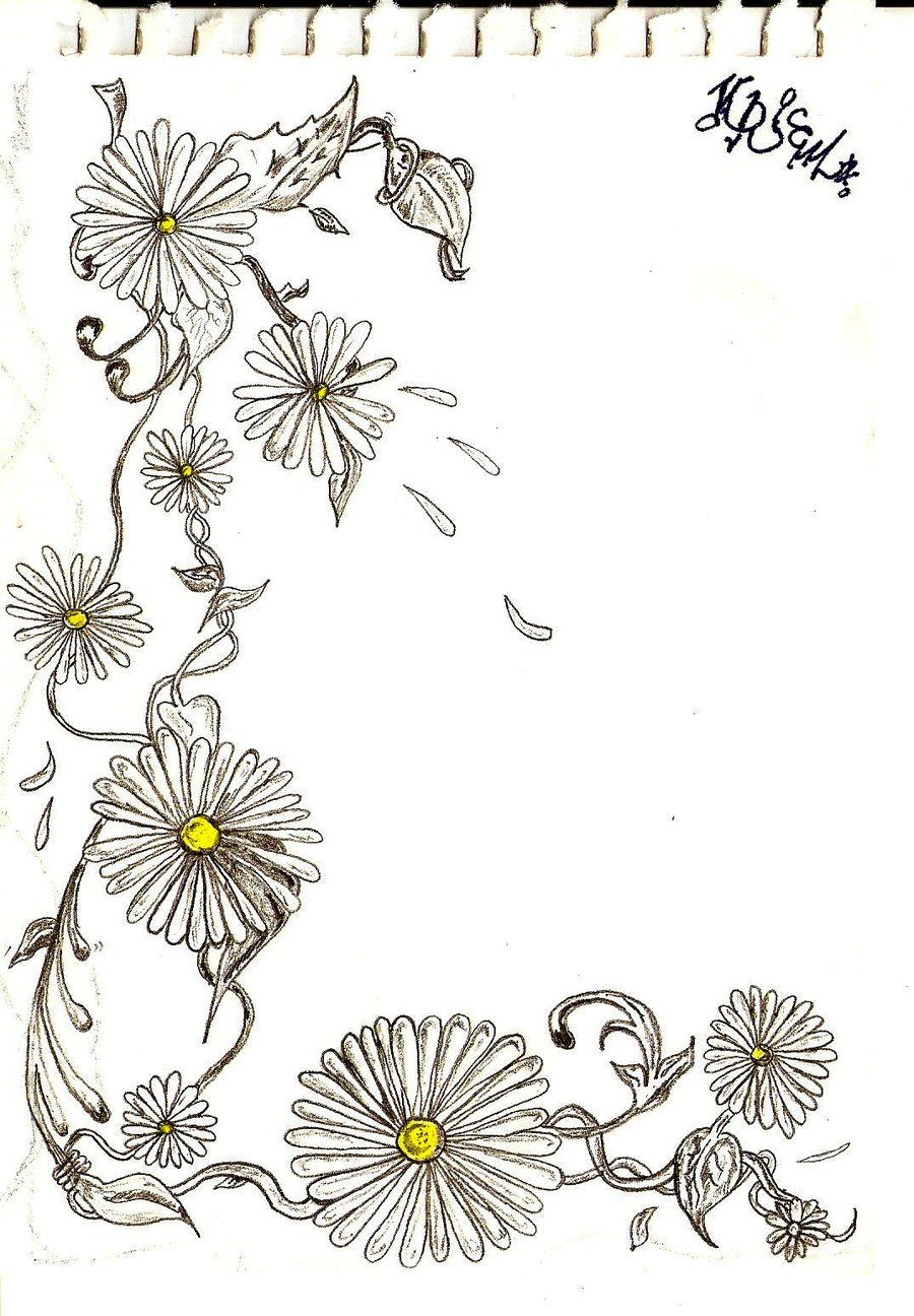 Pin by HEATHER PATTERSON on tattoos Daisy chain tattoo