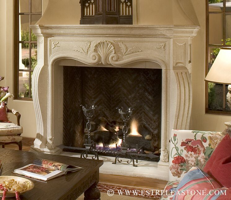 Fireplace Design Ideas for Classic Houses : Antique Vicenza ...
