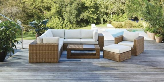 Canvas Tofino Collection Sectional, Best Patio Furniture Covers Canada