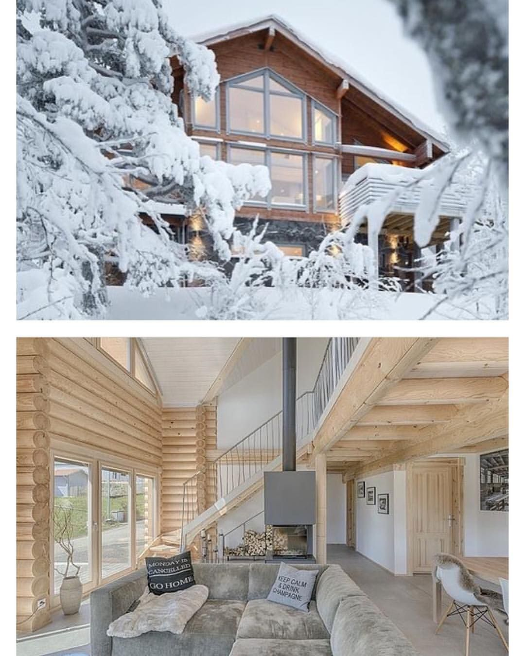 Pin by Jennifer Parisi on Mtn Log homes, Home, Cabin