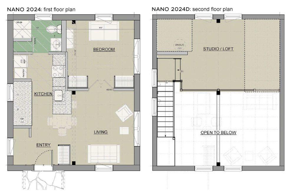 NANO Unity Homes Guest House Garage Ideas Pinterest – Nano House Plans