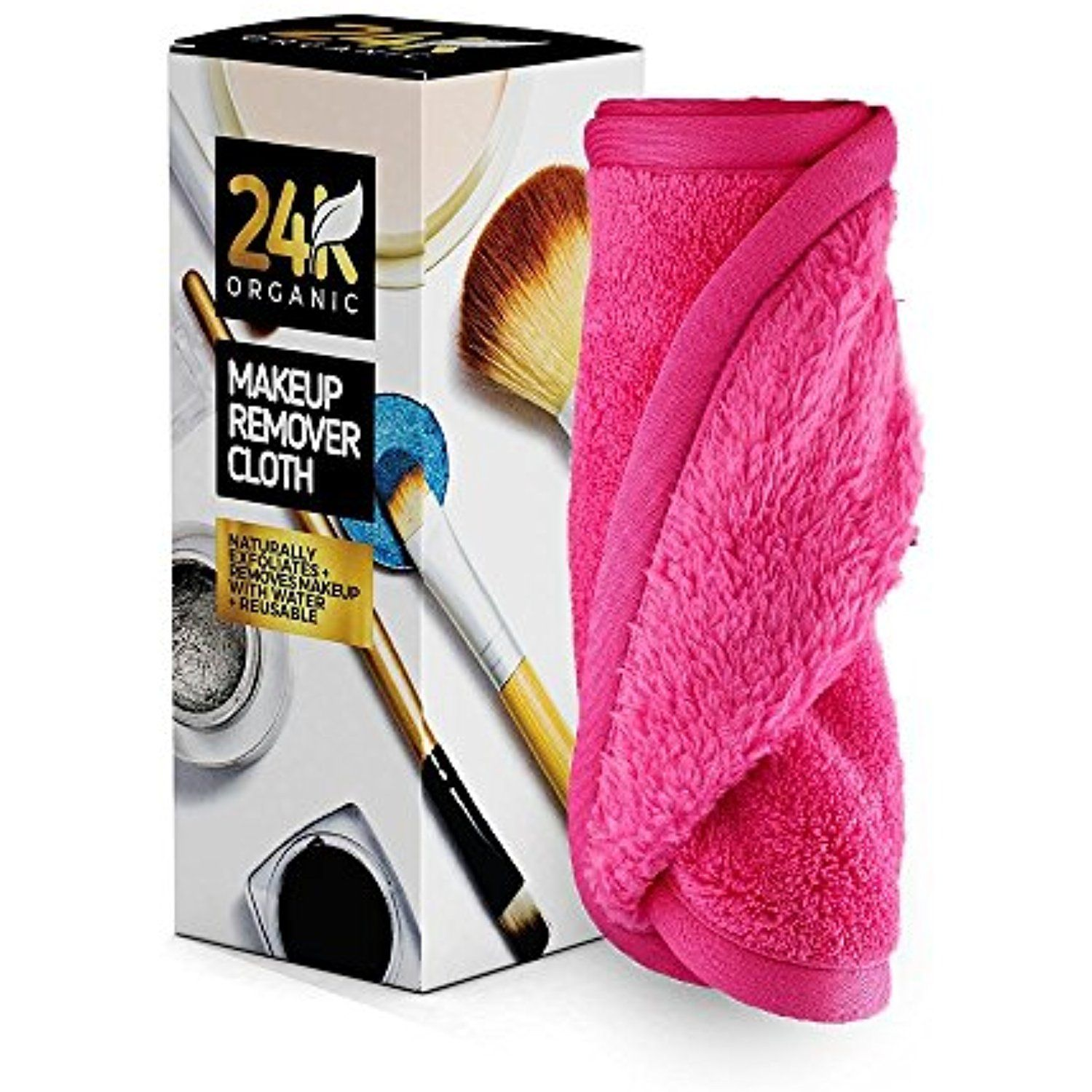 Makeup Remover Cloth by 24K Organic Chemical Free