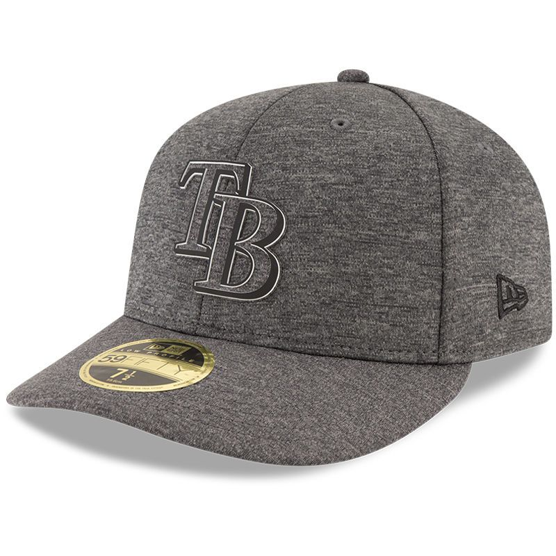 bfe7d9600f2f8e Tampa Bay Rays New Era 2018 Clubhouse Collection Low Profile 59FIFTY Fitted  Hat - Graphite