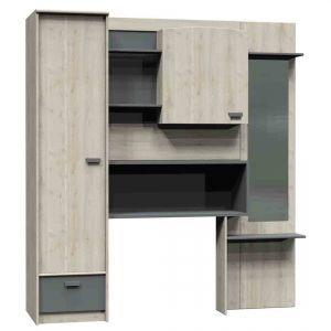 fitted overbed wardrobes home safe. Black Bedroom Furniture Sets. Home Design Ideas