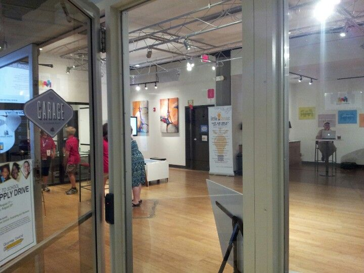 Other side of ground floor in Packard Place