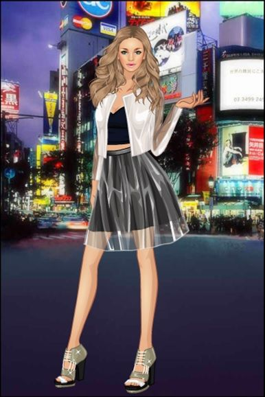 PVC Party Dress Up Game http://www.dressupgames.com/fashion/pvc ...