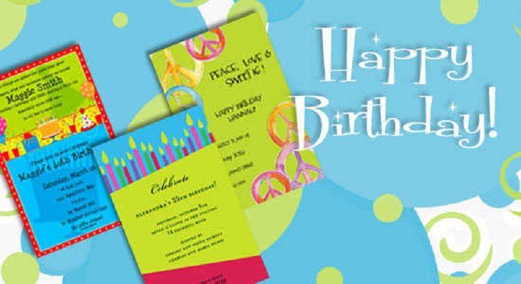 Rainbow Birthday Invitation Letter In English Buick Birthday