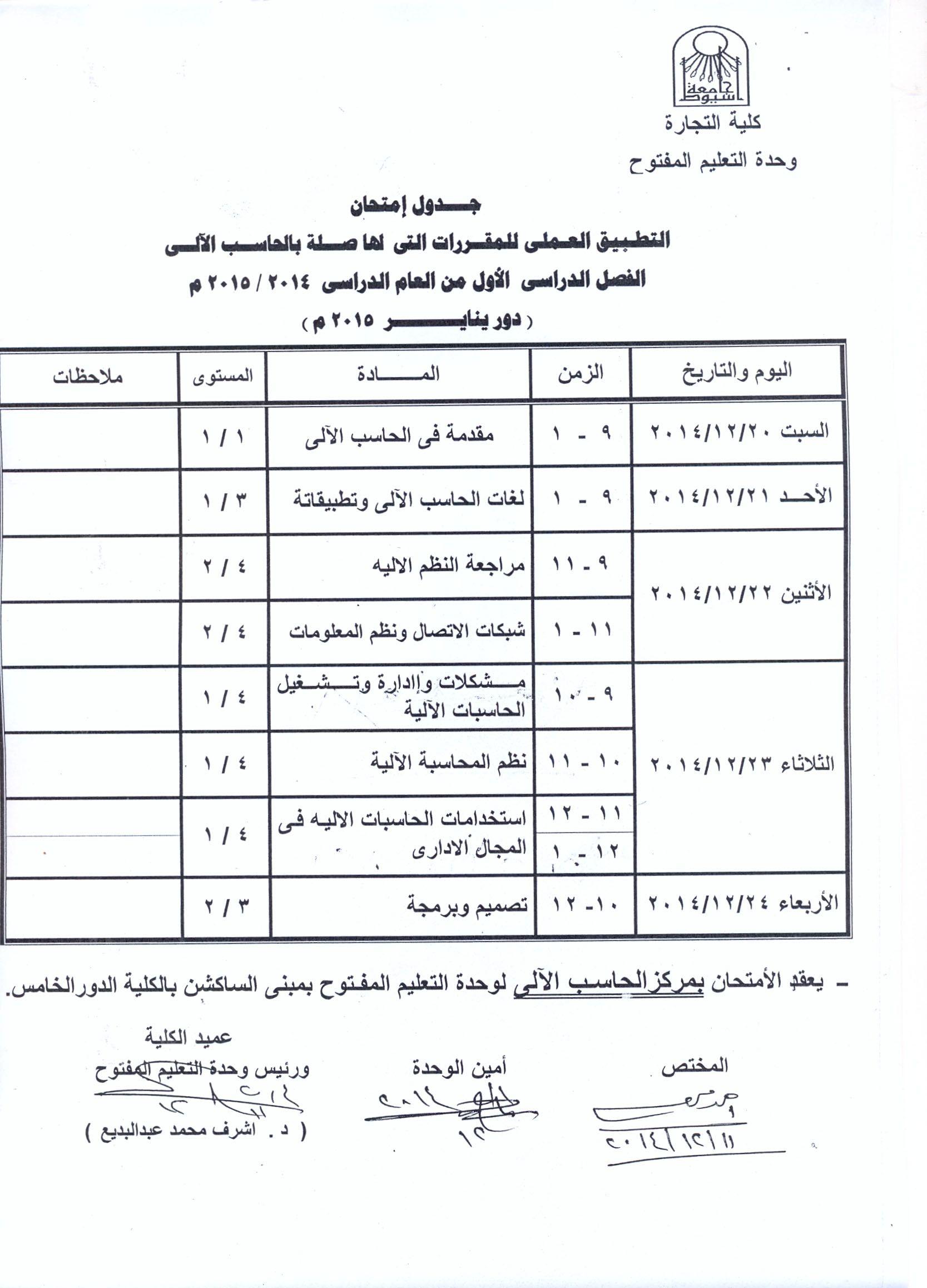 جامعة اسيوط كلية التجارة الاخبار تفاصيل الاخبار Faculties University Subjects