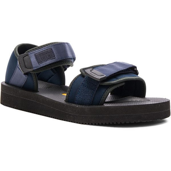 07865051eda Robert Geller Suicoke Sandals (485 CAD) ❤ liked on Polyvore featuring men's  fashion,