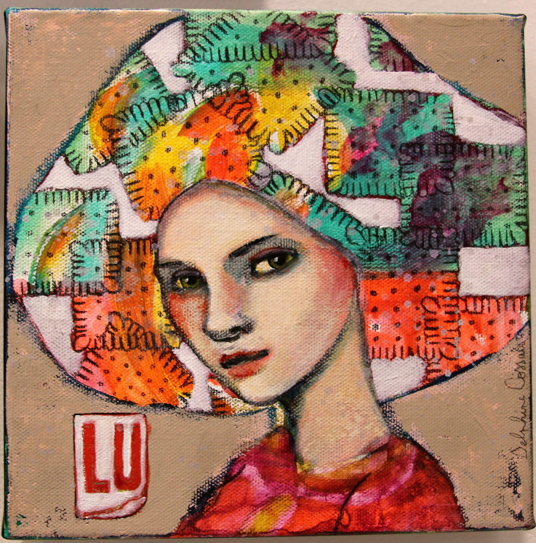 Color art nantes - La Deuxi Me Oeuvre De Delphine Cossais Lu Lvan Nantes Artiste