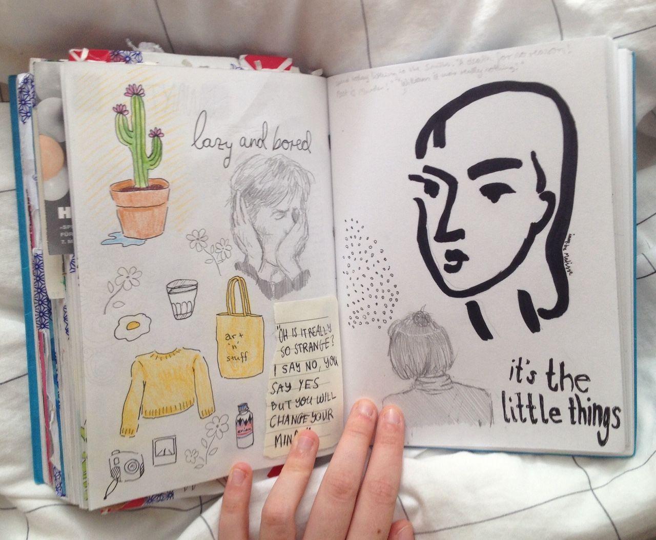 Libretas De Dibujo De Un Artista Freelance: Pin De Gyn Yellow En Artistic Journal En 2018