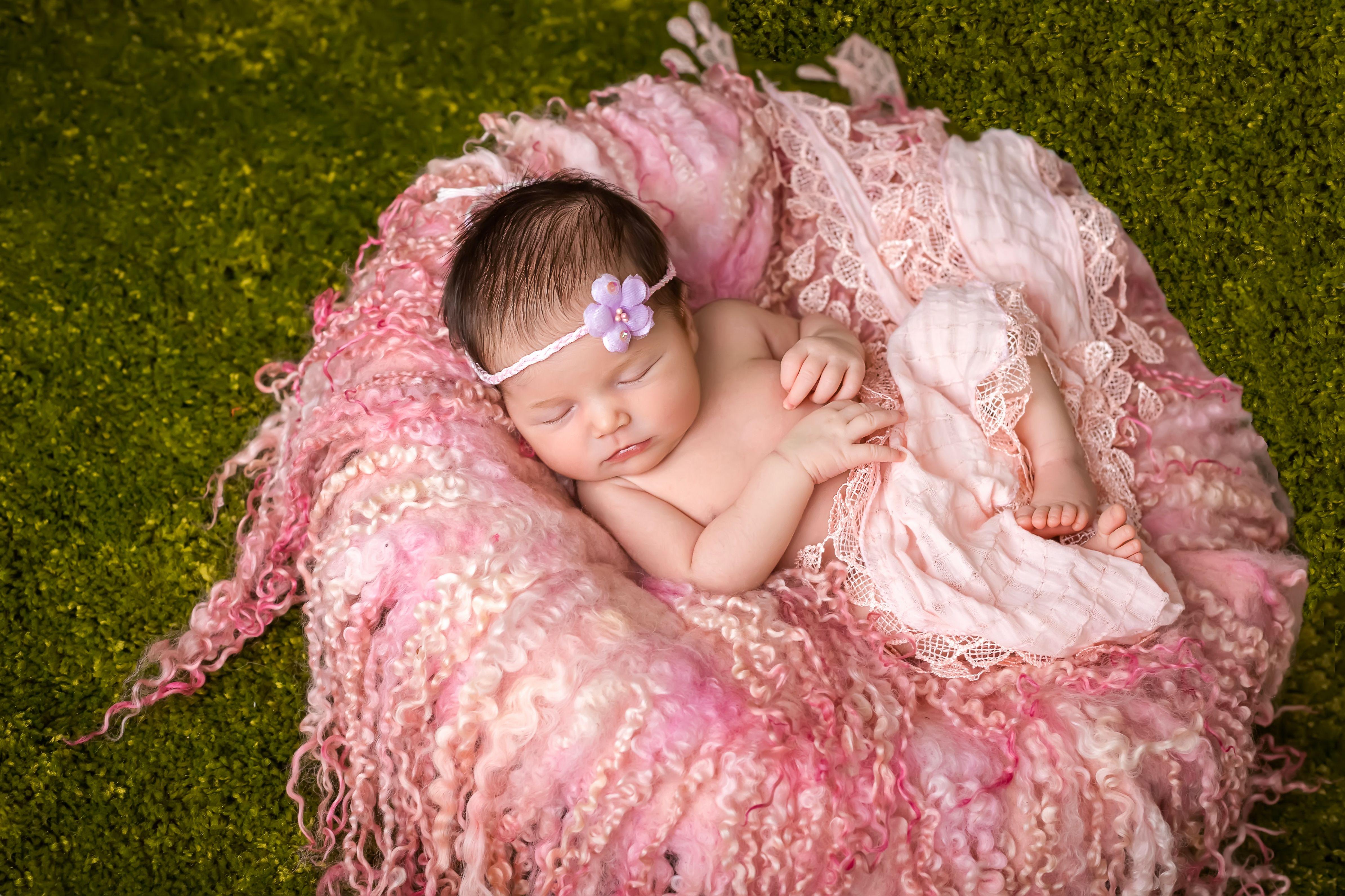 Фотосессия новорожденных своими руками фото 105