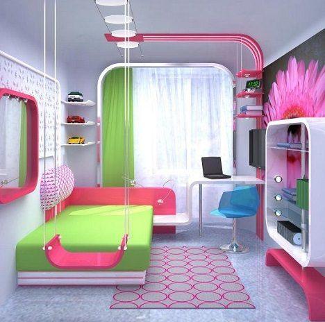 Flower power dormitorios adolescentes pinterest - Diseno de habitaciones pequenas ...