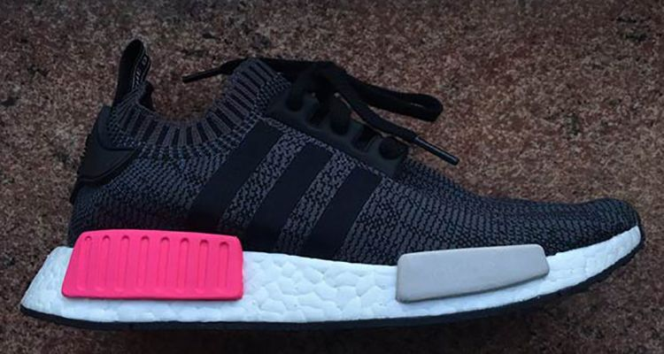 sports shoes 78ef9 f2c44 adidas NMD R1 Primeknit BlackPink