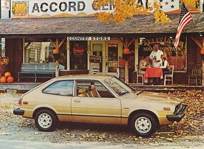 Dick Ide Honda >> 78' Accord brochure!   Car, Honda accord coupe, Honda accord