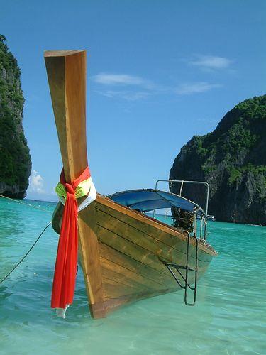 Long boat - Maya Bay, Phi Phi Ley Ko Phi Phi Don, Thailand