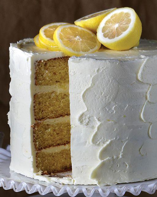 Citron Cake with Lemon Italian Meringue Buttercream - http://www.sweetpaulmag.com/food/citron-cake-with-lemon-italian-meringue-buttercream #sweetpaul