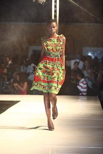 Vestidos de capulana , Mozambique Fashion Week