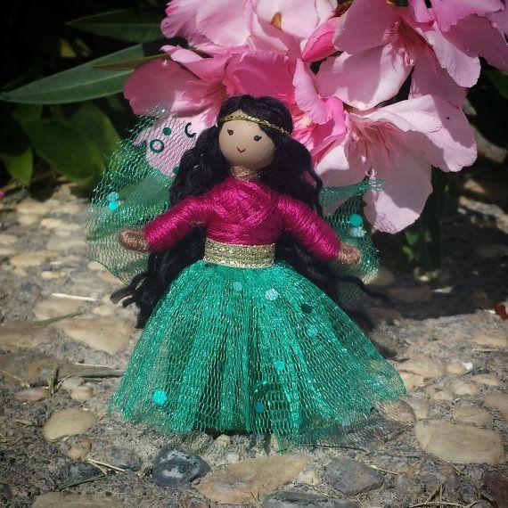 Fairy Doll - Waldorf Fairy- Asian Fairy Doll - Fairy Princess- Bendy ...