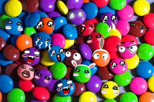 Colorful Crazy Candies