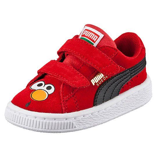 Suede Sesame Street® Elmo Kids Sneakers