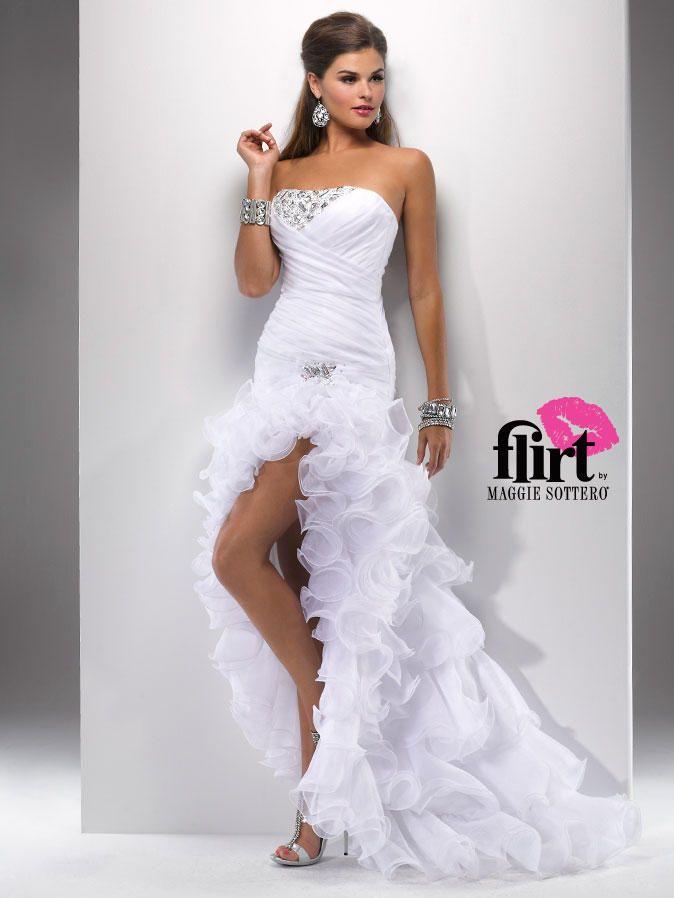 Flirt Prom by Maggie Sottero P4704 Flirt Prom by Maggie Soterro ...