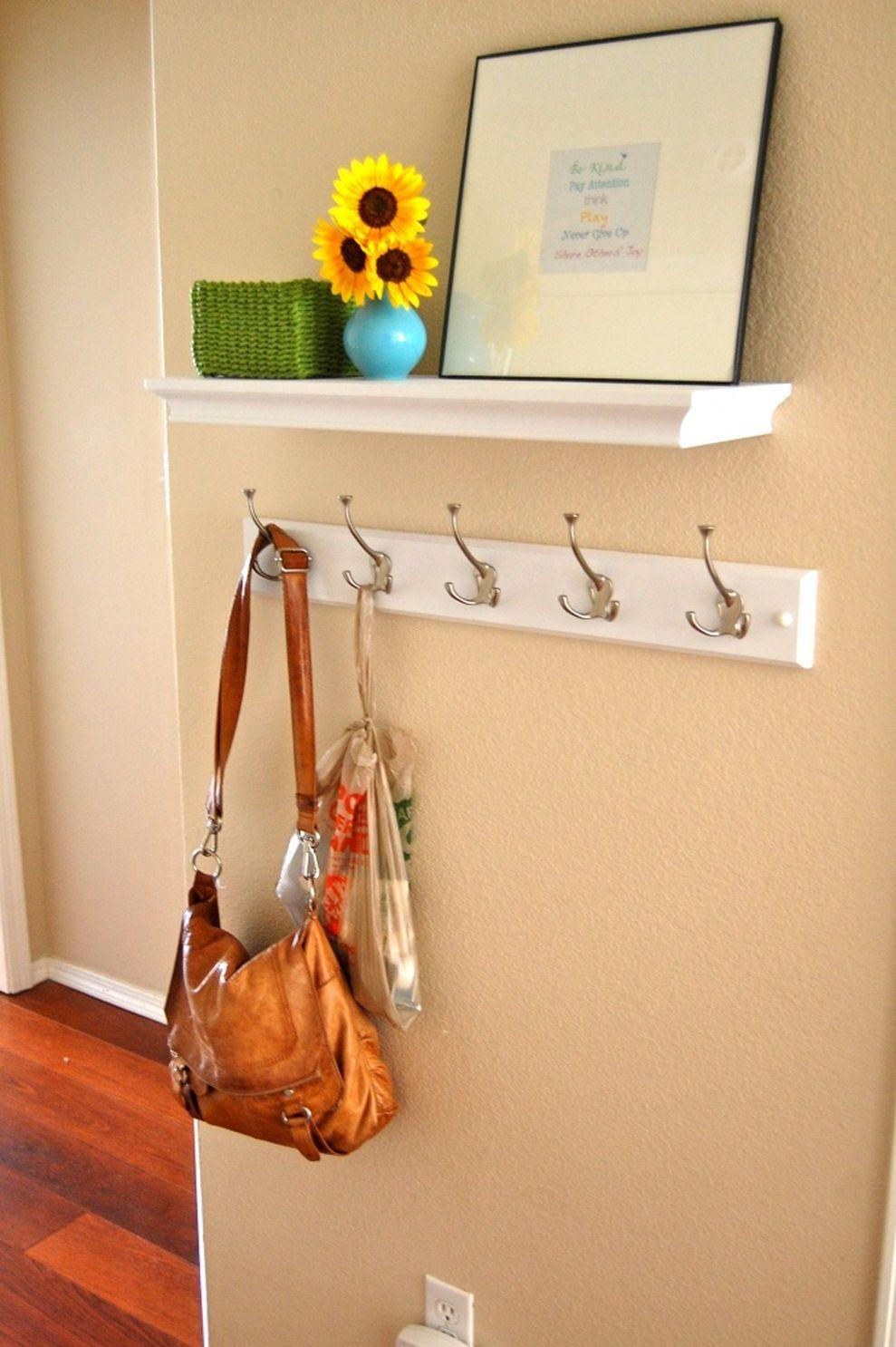 28 Easy Ideas for DIY Coat Rack Shelf | Diy coat rack, Coat rack ...