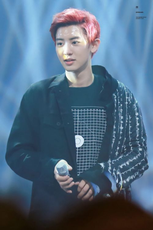 Chanyeol - 160623 Mnet M! Countdown Credit: KeyBoard1127. (엠넷 엠! 카운트다운)