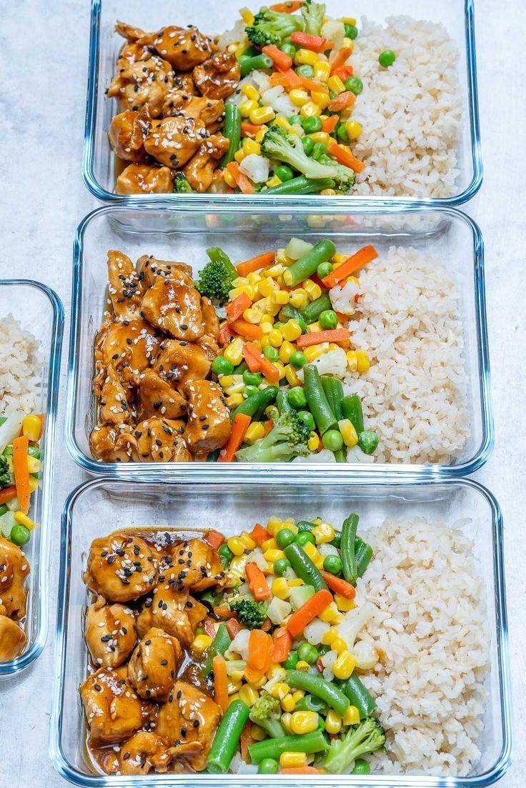 Photo of #MealPrep Teriyaki Chicken Bowls für saubere Essziele! – Crushing von neuen …