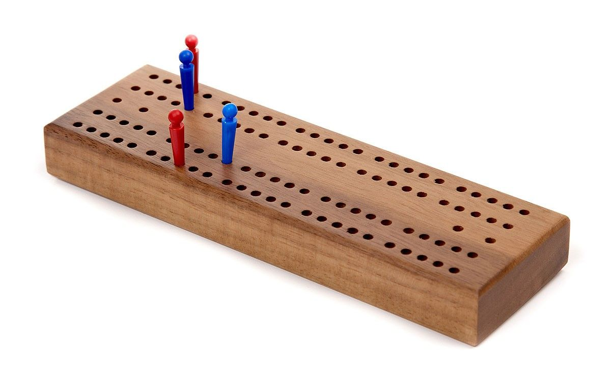 Cribbage Board Cribbage board, Parlor games, Cribbage
