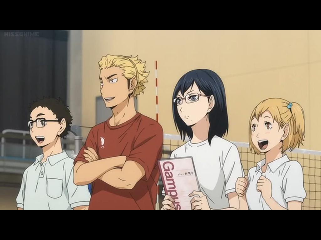 Pin by Ashley on Haikyuu! Haikyuu, Volleyball anime