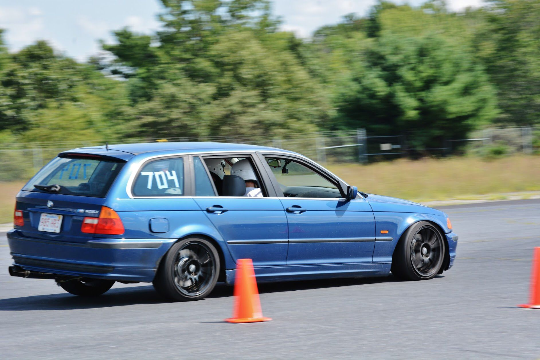 Planting That Front Outside Wheel At Autocross Autocross Wagons Wagon