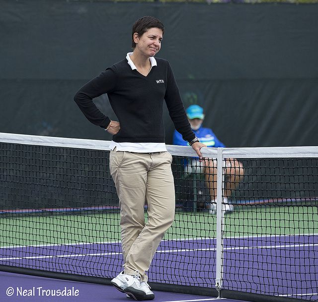 Tennis Umpire Marija Cicak Sports Tennis Collegiate