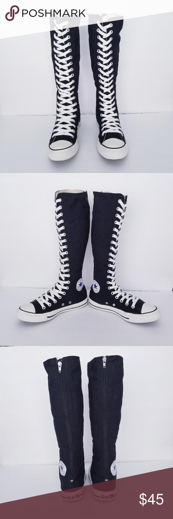 Converse Mid Calf/ Knee High Tops