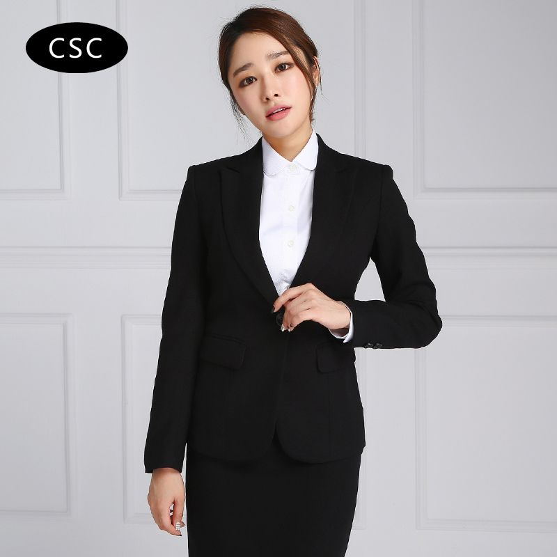 Women's Suit Blazer Jacket Female Slim fit Ladies Blazers Women ...