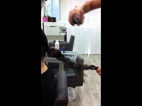 How to create a braided bun