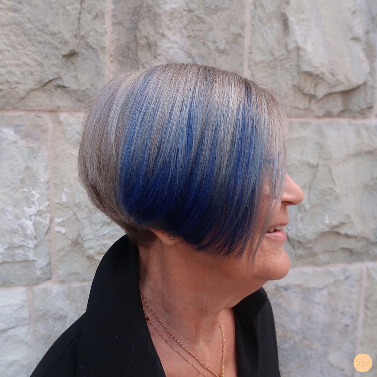 avfärga grått hår