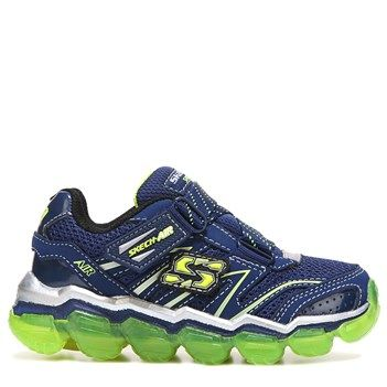 118f6861e4ae Skechers Kids  Skech Air Super Z Sneaker Toddler Shoes (Navy Lime)