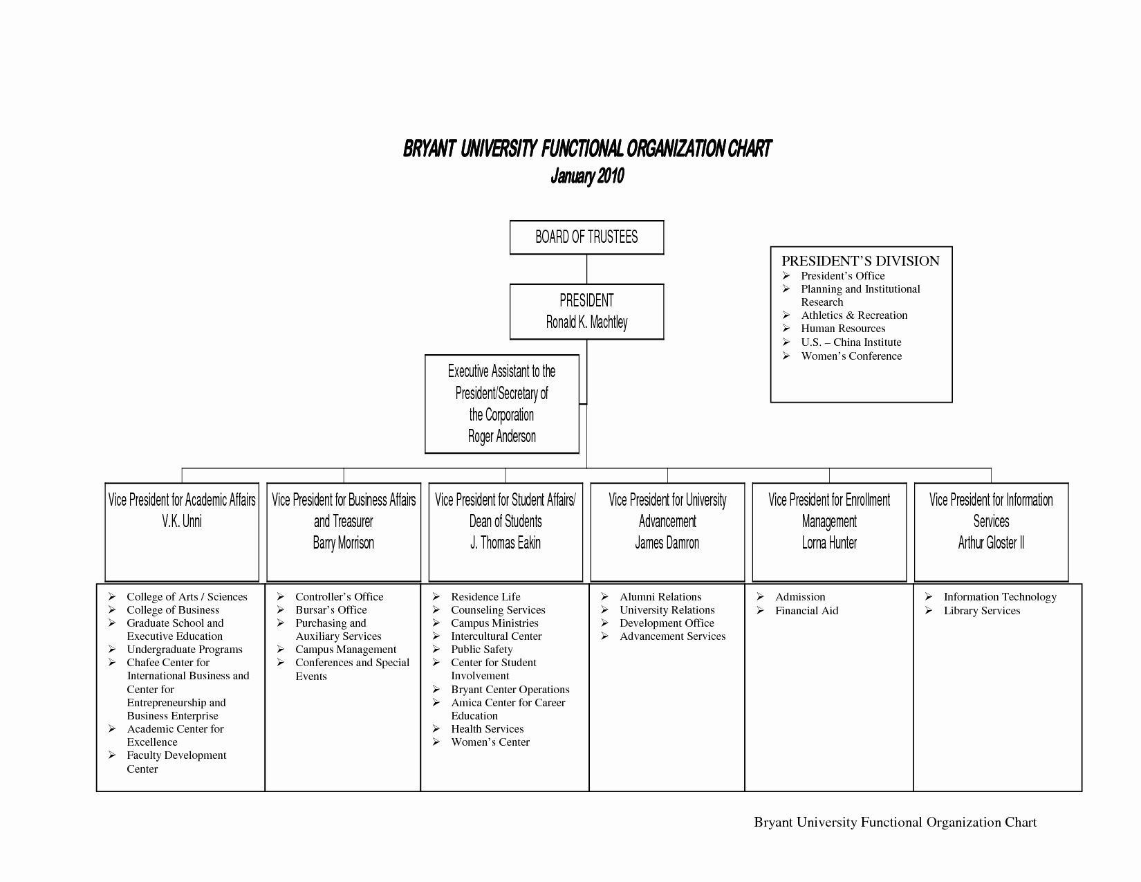 Non Profit organizational Chart Template Best Of 10 Best