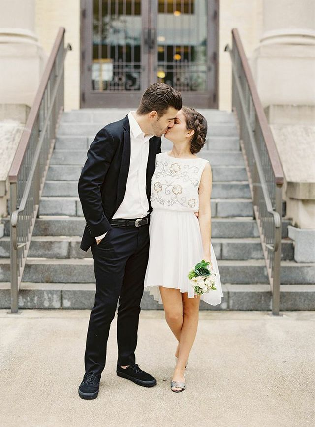 Cute Courthouse Wedding Dresses