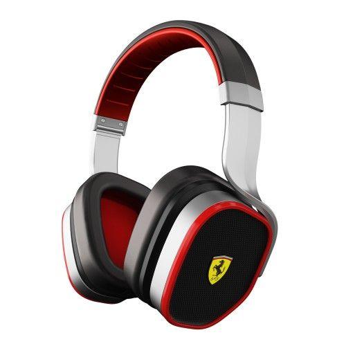 Scuderia Ferrari R300 Audio Headphones Silver