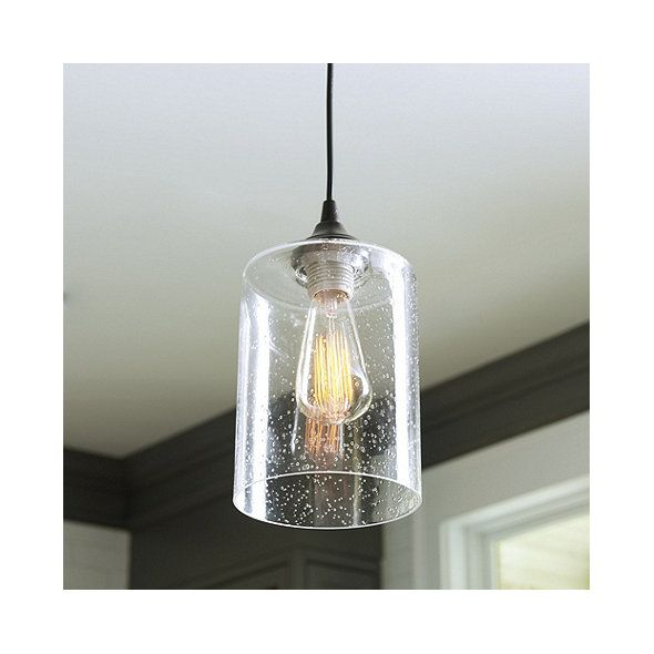 Can Light Adapter Seeded Gl Pendant