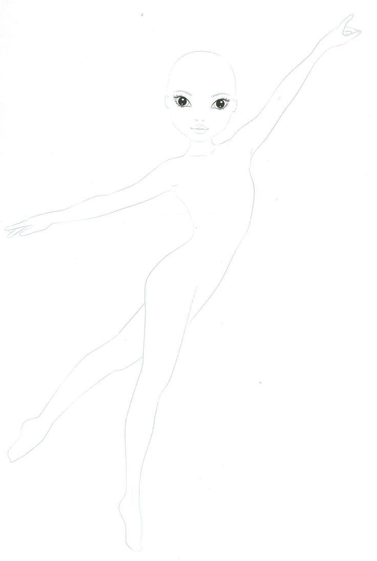Ausmalbilder Topmodel Meerjungfrau :  8