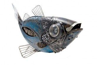 edouard martinet: scrap metal insect sculptures « HAUTE NATURE