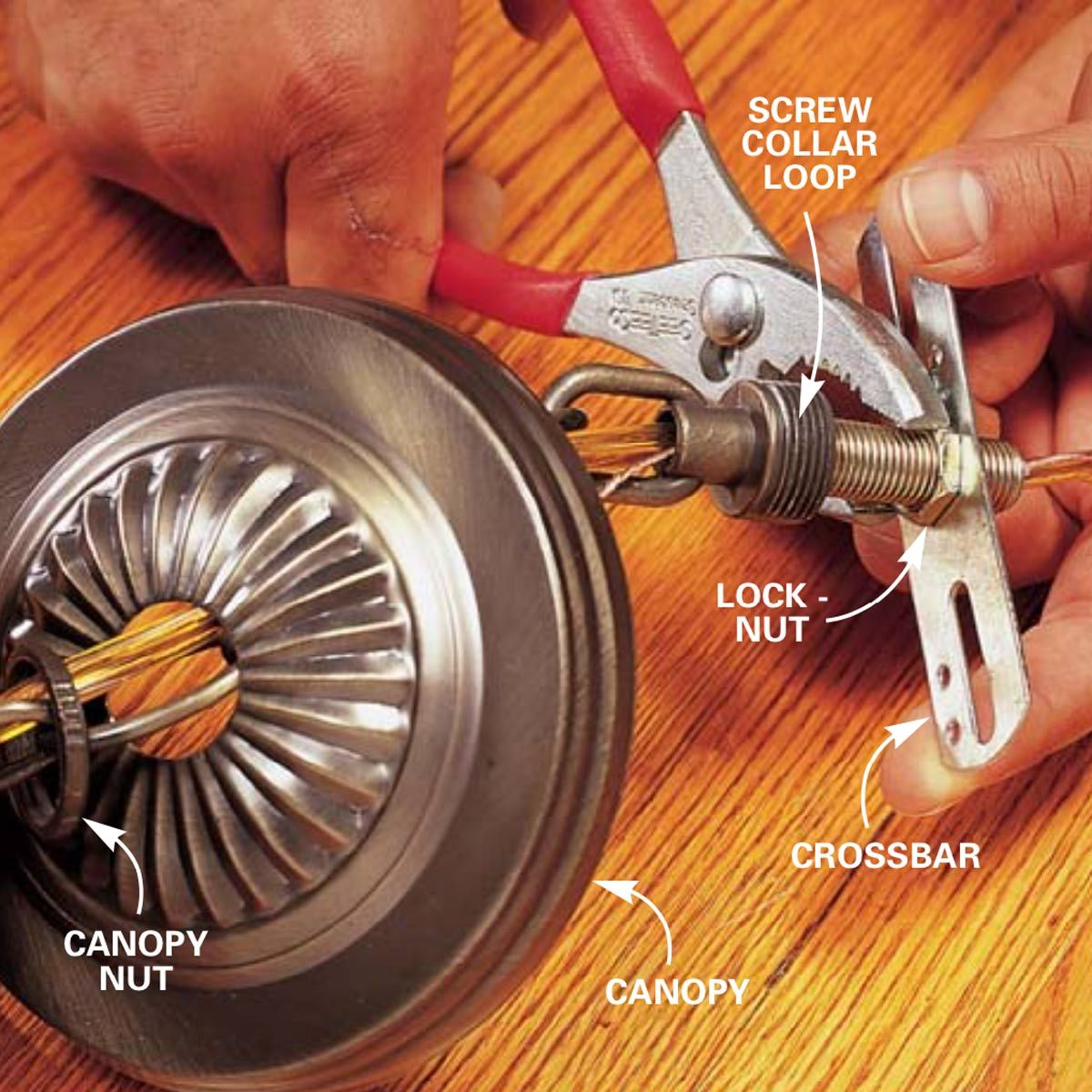 How To Hang A Ceiling Light Fixture Ceiling Lights Installing Light Fixture Light Fixtures