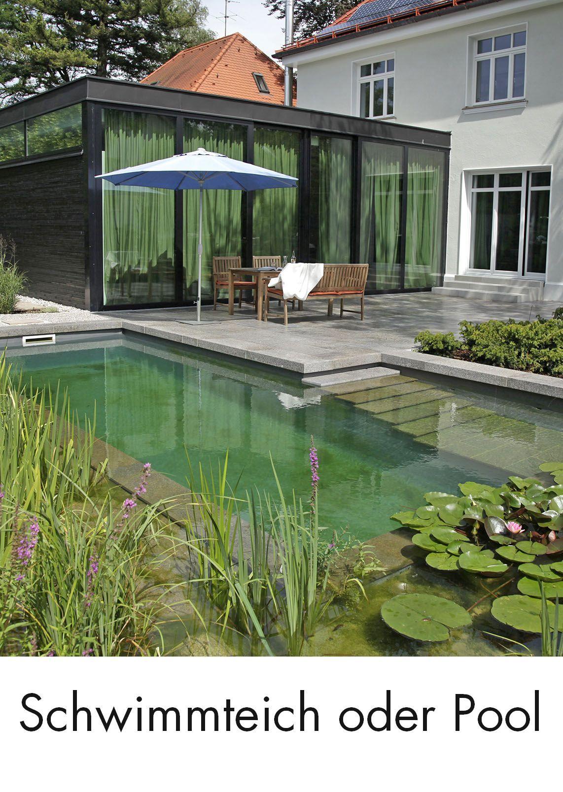 Schwimmteich oder Pool: 5 Kriterien für Ihre Entscheidung #poolimgartenideen
