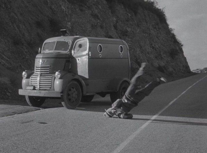 early chevy  panel truck      original batman serials  pinterest